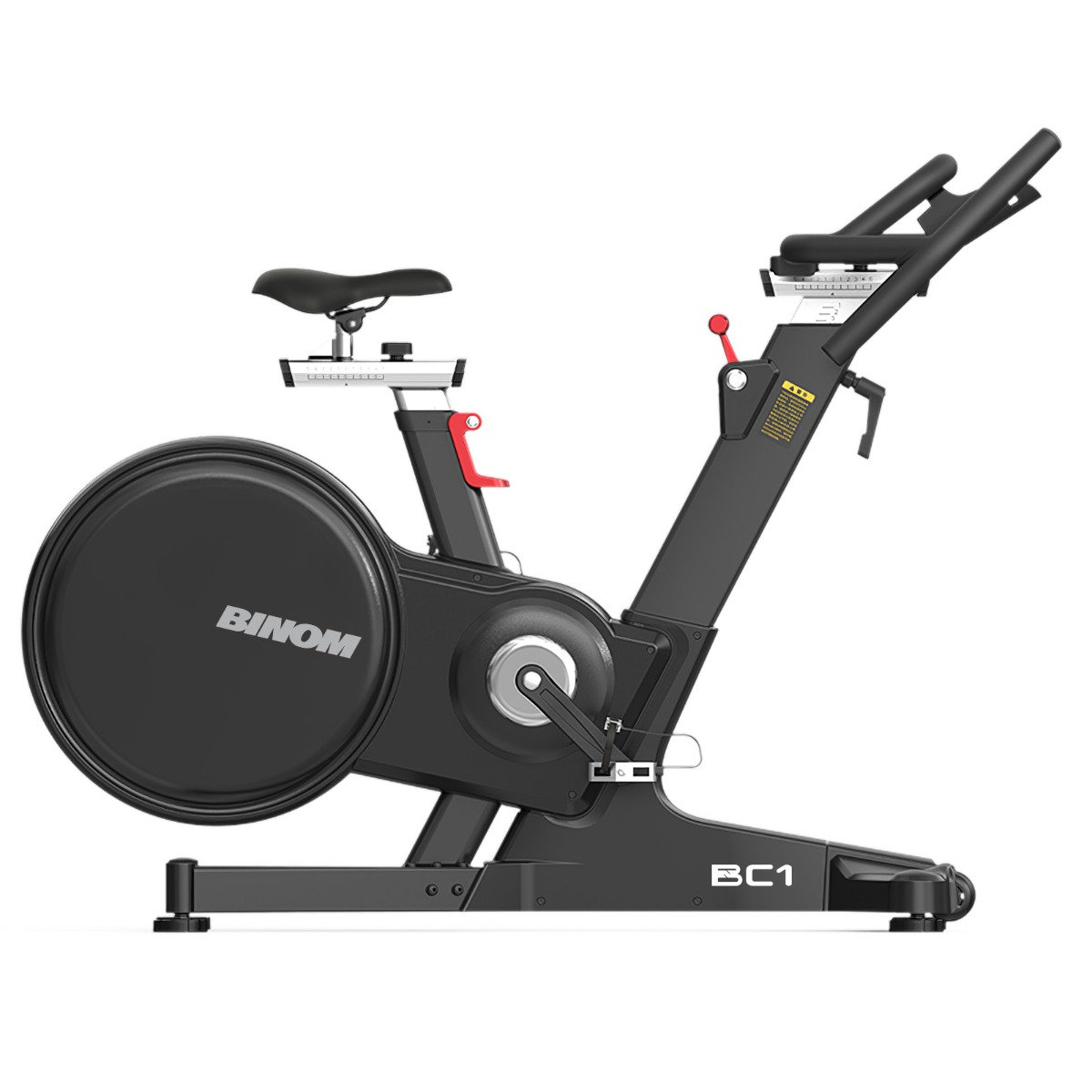 Binom Fitness BC1 Bicicleta Spinning Profissional Magnética com Console